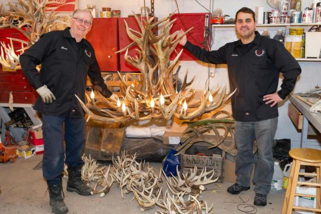 André et René Boivin fabriquent dans leur atelier... (PhotoAndré Laroche, collaboration spéciale)