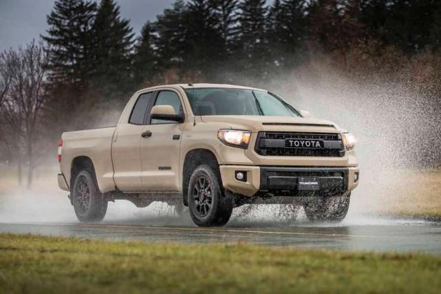 Le Toyota Tundra... (Photo fournie par le constructeur)