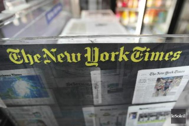 Le journal «The New York Times» souhaite prendre... (Photothèque Le Soleil)