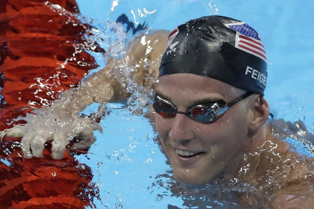 Le nageur américain James Feigen... (Photo Matt Slocum, AP)
