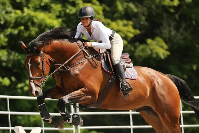 Dans les poney-clubs, écoles d'équitation et autres centres... (PHOTO MARTIN CHAMBERLAND, LA PRESSE)