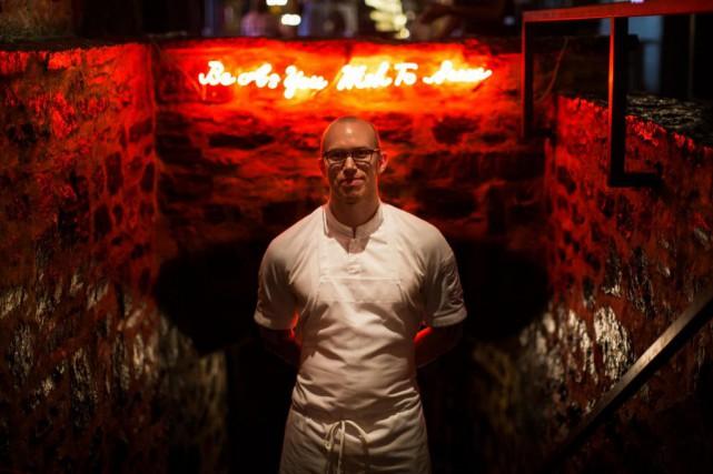 Ola Claesson est le nouveau chef de cuisine... (Photo Olivier PontBriand, La Presse)