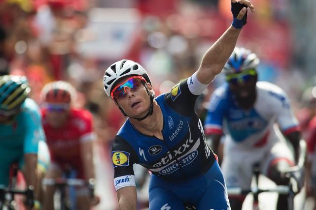 Le Belge Gianni Meersman a remporté la cinquième... (Photo Jaime Reina, AFP)