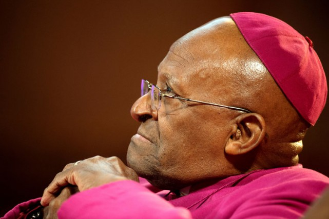 Desmond Tutu... (Photo ARCHIVES REUTERS)