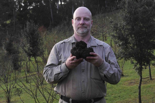 L'Australien Stuart Dunbar a trouvé sa truffedans un... (AFP)
