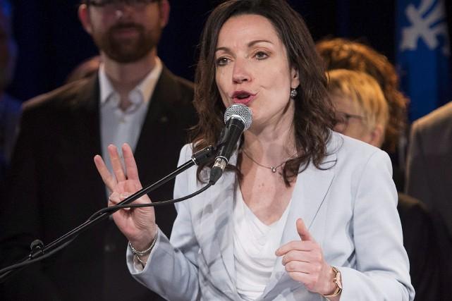 La député du PQ Martine Ouellet... (La Presse Canadienne, Graham Hughes)