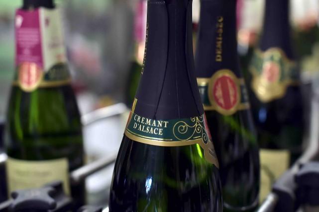 Le crémant d'Alsace se vend de mieux en... (AFP, Patrick Hertzog)