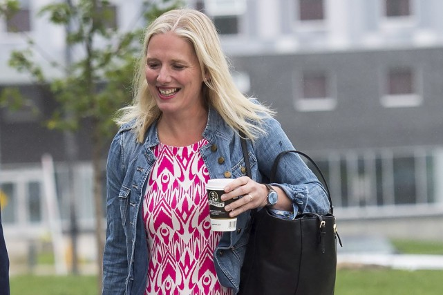 La ministre libérale de l'Environnement Catherine McKenna est... (La Presse canadienne, Nathan Denette)