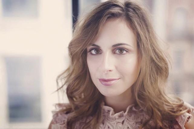 Émilie Janvier a partagé le plateau d'En direct... (Tirée de Facebook)