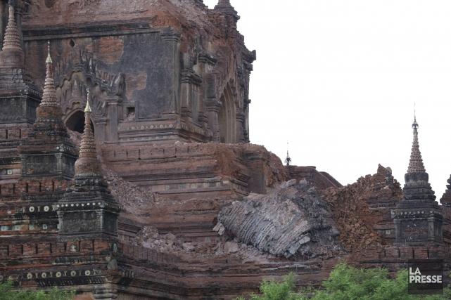171 des monuments bouddhistes du célèbre site de... (AFP, Soe Moe Aung)