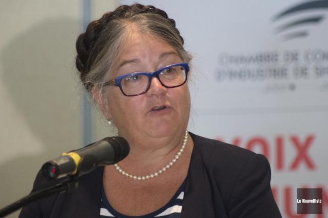 Diane Lebouthillier, ministre du Revenu national, a résumé... (Photo Sylvain Mayer, Archives Le Nouvelliste)