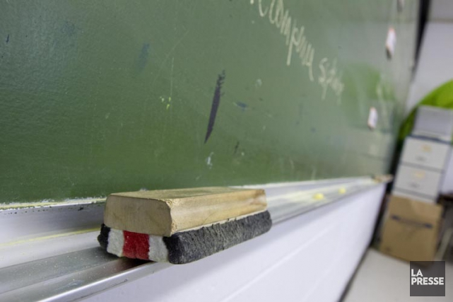 Au printemps dernier, les commissions scolaires avaient concentré leur... (PHOTO ALAIN ROBERGE, LA PRESSE)
