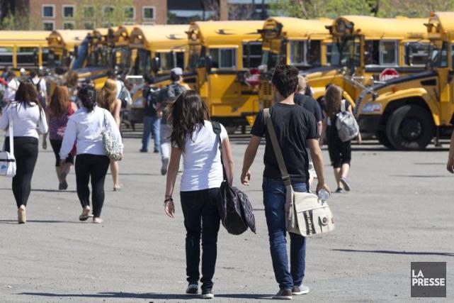 Exactement 4650 des 5108 élèvesadmissibles au test provincial... (Olivier Jean, Archives La Presse)
