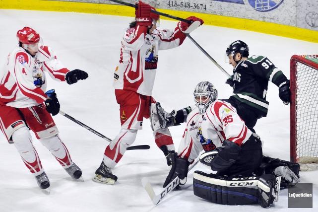 La Ligue nord-américaine de hockey a accordé un nouveau délai à l'organisation... (Archives Le Quotidien, Rocket Lavoie)