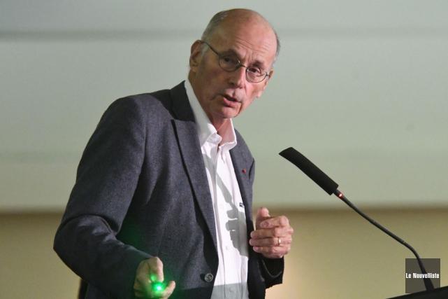 Boris Cyrulnik constituait la pièce de résistance du... (Stéphane Lessard, Le Nouvelliste)