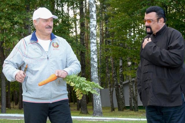 Le président de la Biélorussie Alexandre Loukachenko a...