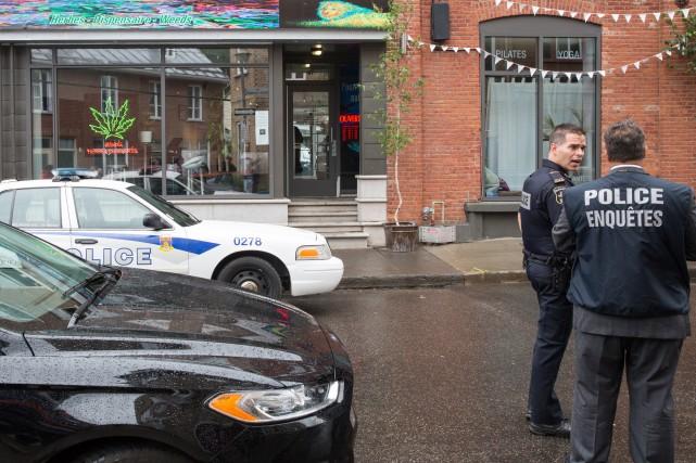 Une opération policière en matière de stupéfiants a... (Collaboration spéciale, Steve Jolicoeur)
