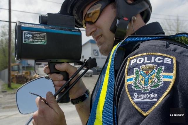Le Service de police de Sherbrooke multipliera les... (Archives, La Tribune)