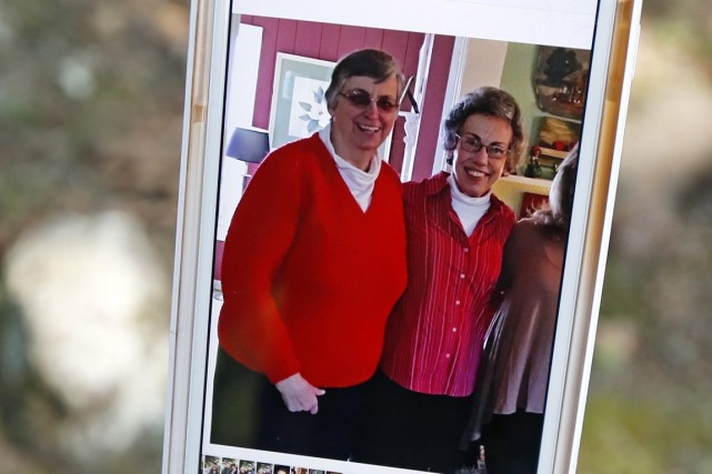 Paula Merrill et Margaret Held... (PHOTO AP)