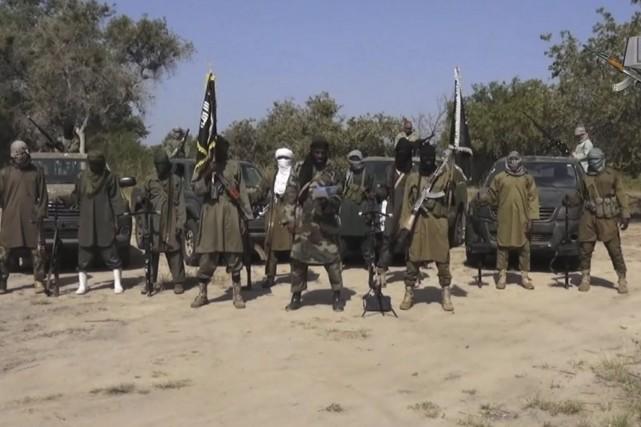 Le leader de Boko Haram, Abubakar Shekau (au... (Archives AP)