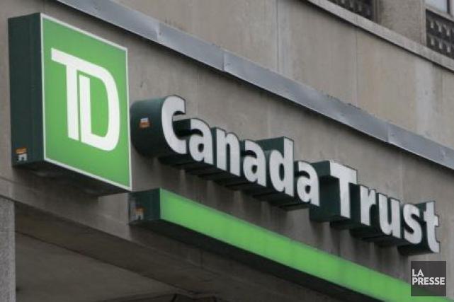 La banque TD a dégagé un bénéfice net de 2,4 milliards $ au troisième trimestre... (Archives La Presse)