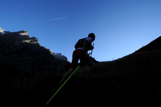 L'Ultra-Trail du Mont-Blanc emprunte des sentiers de la... (Jean-Pierre Clatot, Archives AFP)