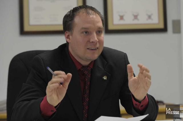 Luc Dostaler, maire de Notre-Dame-du-Mont-Carmel.... (Sylvain Mayer)