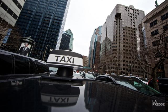 Un chauffeur de taxi a remis cette semaine une mise en demeure au Bureau du... (Photo André Pichette, archives La Presse)