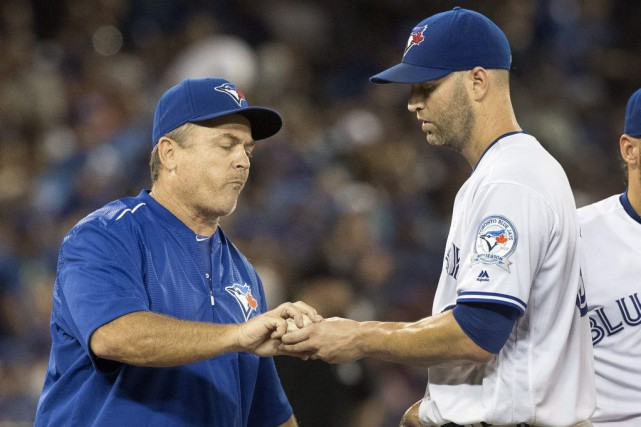 Le gérant John Gibbons a remplacé l'as partant... (Fred Thornhill, PC)