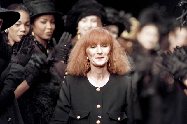 Sonia Rykiel en 1993... (AFP, Pierre Guillaud)