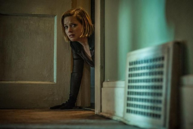 Jane Levy dans Don't Breathe de Fede Alvarez.... (Photo fournie par Sony Pictures)