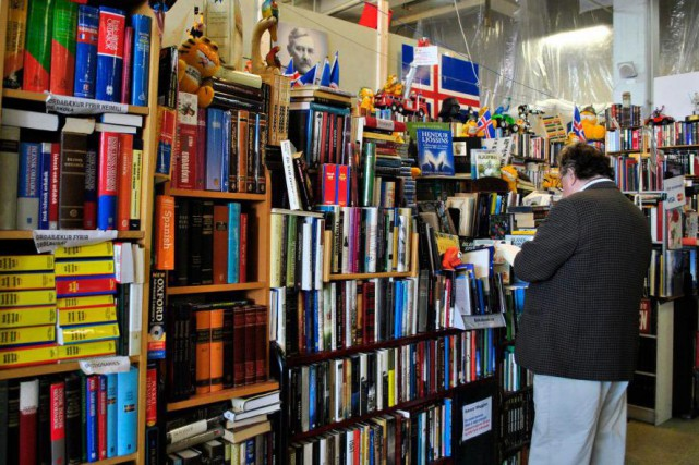 Les Islandais sont de grands lecteurs. Sur la... (Photo Laila Maalouf, La Presse)