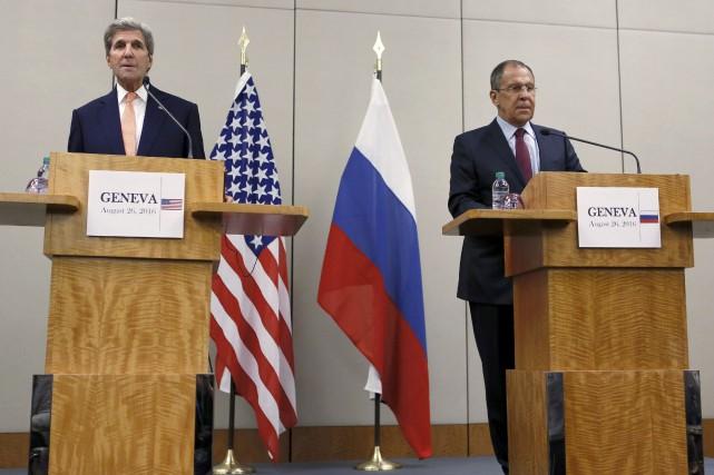 Les États-Unis et la Russie ont fait état vendredi à Genève de progrès pour... (REUTERS)