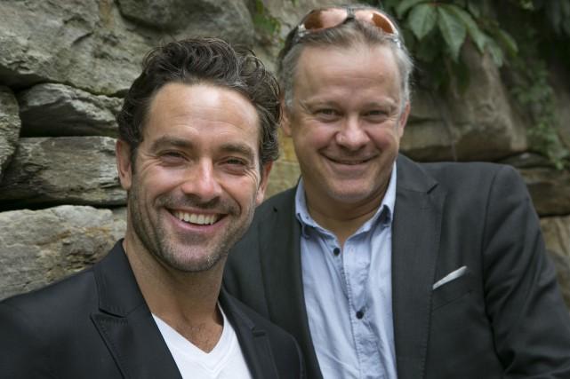 Guillaume Lemay-Thivierge et Alain Desrochers... (Spectre média, René Marquis)