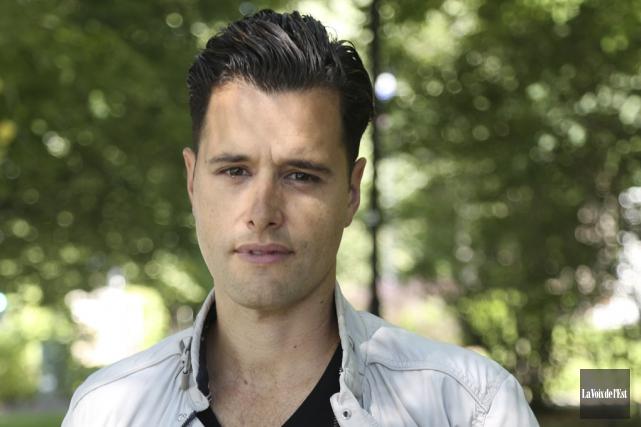 L'acteur, scénariste et réalisateur Christian de la Cortina... (Julie Catudal, La Voix de l'Est)
