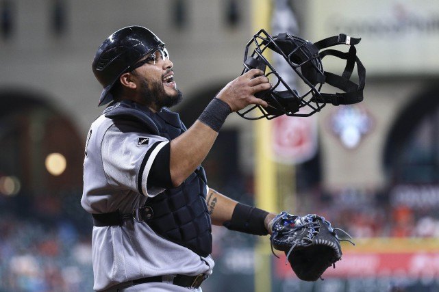 Dioner Navarro... (PHOTO Troy Taormina, archives USA Today Sports)