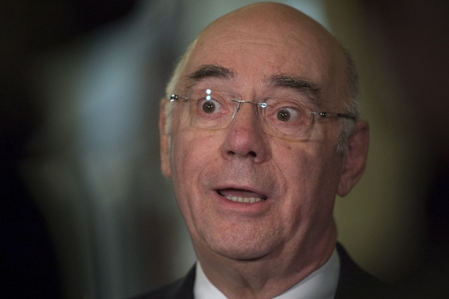 Le ministre démissionnaire Jacques Daoust... (Archives, La Presse Canadienne)