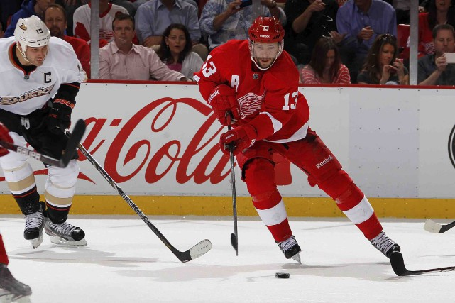 Les Red Wings de Detroit ont échangé Pavel... (Archives AFP)