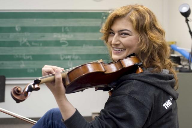 Josée Aidans est professeur au Conservatoire de musique... (Sylvain Mayer)
