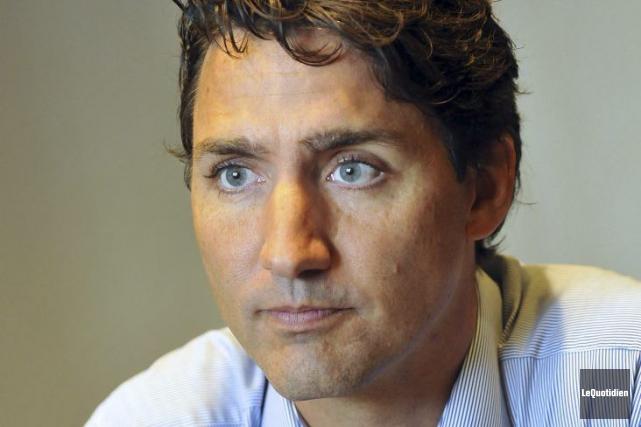 Le premier ministre du Canada, Justin Trudeau... (Rocket Lavoie, Le Quotidien)
