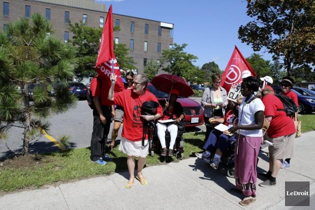 ACORN Canada est une organisation indépendante nationale composée... (Patrick Woodbury, LeDroit)