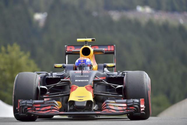 Max Verstappen a inscrit le meilleur chrono de... (Loic Venance, AFP)