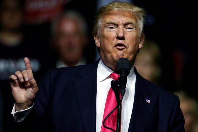 Donald Trump... (REUTERS)