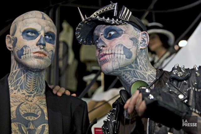 Zombie Boy sera sur place au Tattoo Rendez-Vous.... (La Presse)