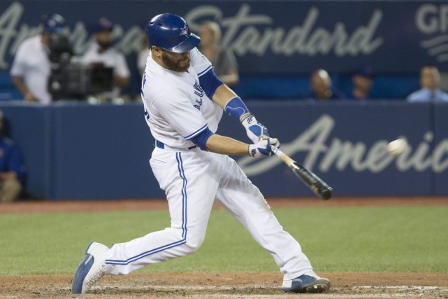 Russell Martin a produit cinq points, vendredi soir... (PHOTO Chris Young, archives La Presse Canadienne)