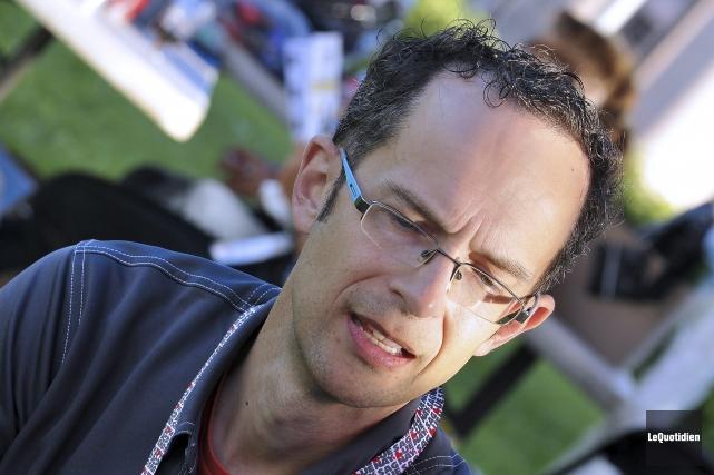 André Fortin, initiateur du Festival Humanité.... (Photo Le Quotidien, Rocket Lavoie)