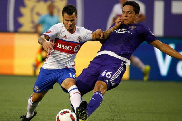 Sebastian Giovinco (à gauche) est le joueur le... (PHOTO KIM KLEMENT, USA TODAY SPORTS)