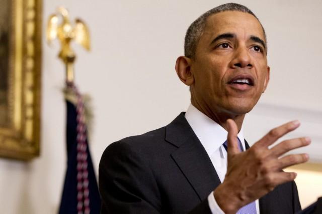 Barack Obamaa exhorté les élus républicains, qui contrôlent... (Photo Jacquelyn Martin, archives AP)