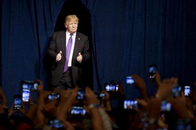 «S'il est élu, je peux affirmer sans équivoque... (Photo Jae C. Hong, archives AP)