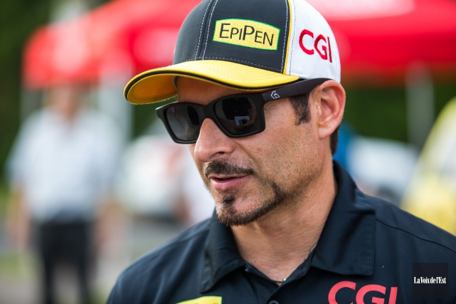 Alex Tagliani... (PHOTO Olivier Croteau, archives La Voix de l'Est)
